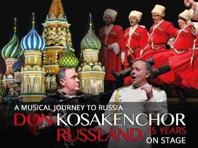 Don kosakenchor russland jubileetour